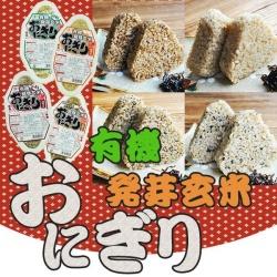 有機発芽玄米おにぎり4種類16個セット(コジマフーズ)
