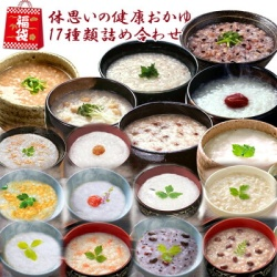 福袋 体に優しい国産おかゆ 17種類詰め合わせセット